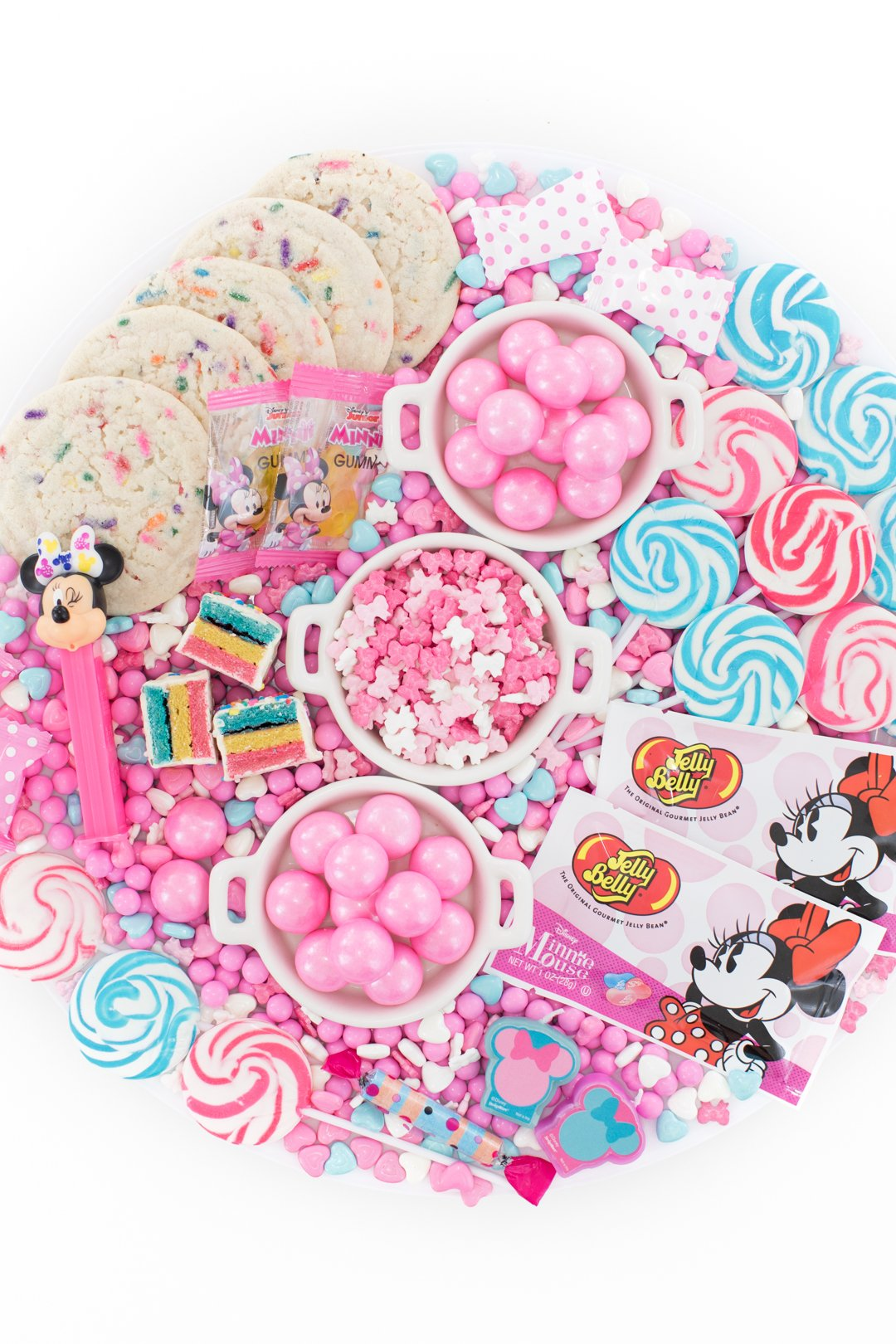 Minnie Mouse party candy ideas