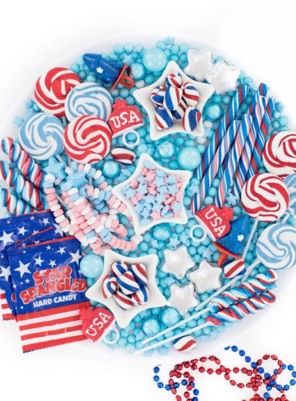patriotic candy board