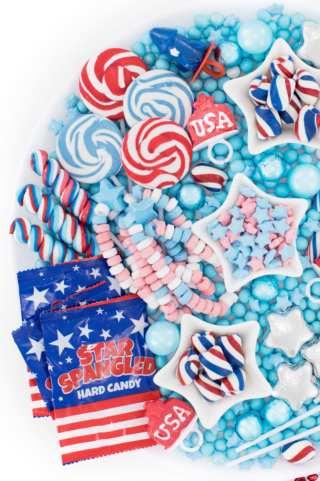 4th of july candy board
