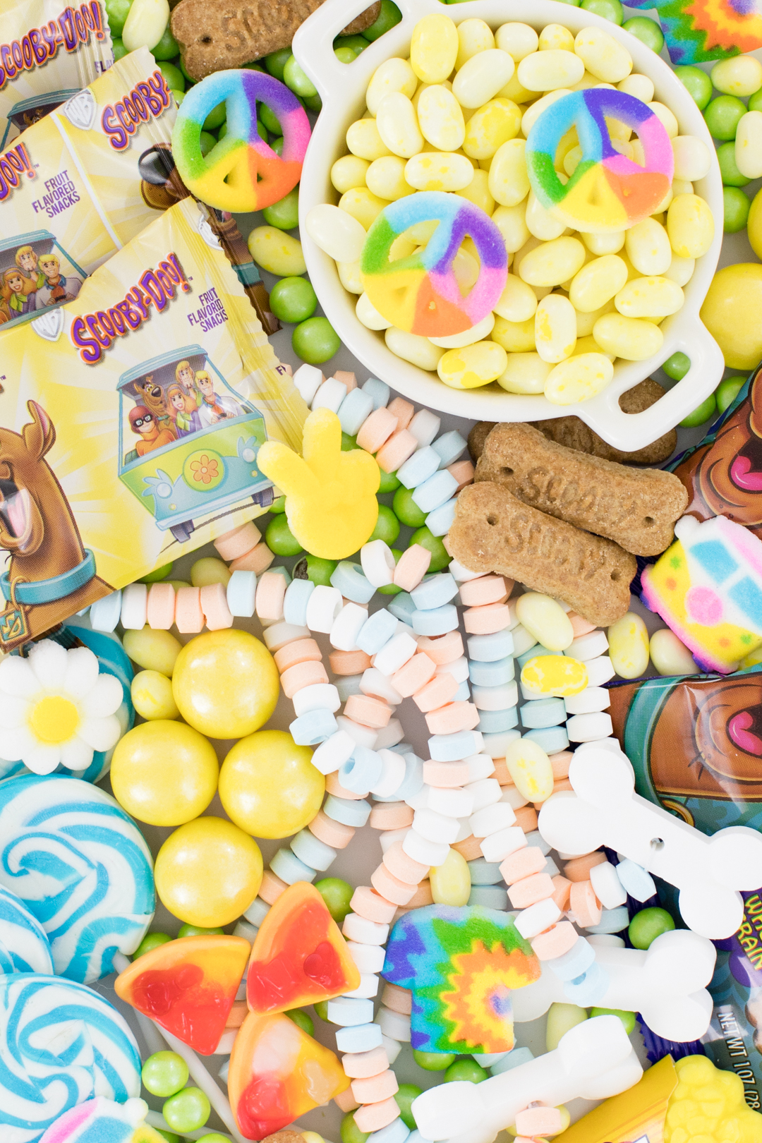 Tray of Scooby Doo Candies