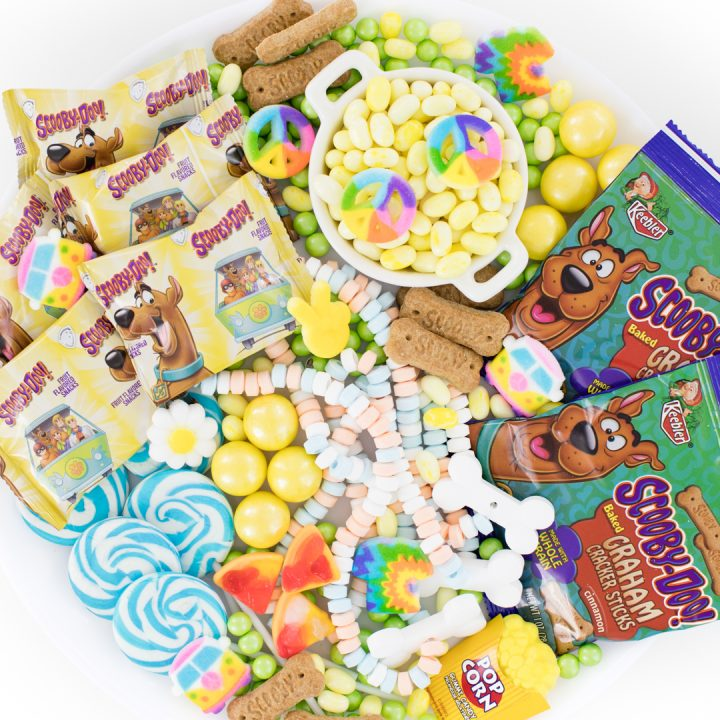 Scooby Doo Candy Charcuterie Snack Board