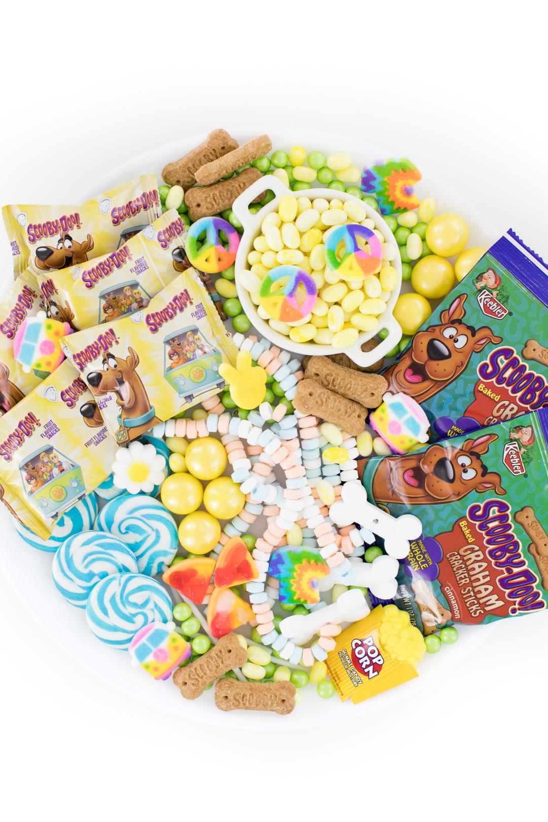 scoob! movie snack tray