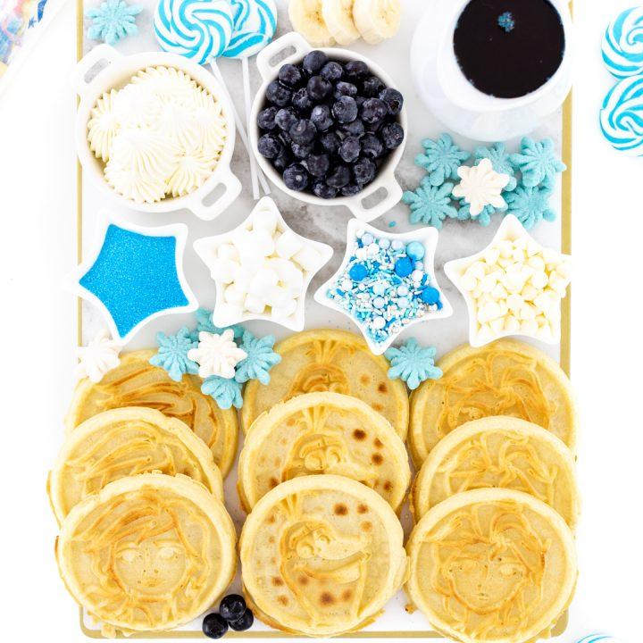 Frozen Movie Waffle Board