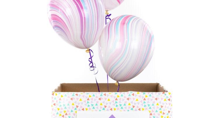 Good Vibes DIY Surprise Gift Box