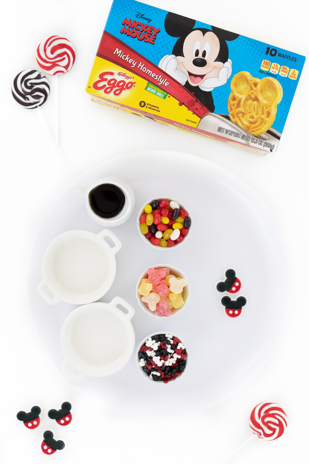 mickey mouse waffles from eggo