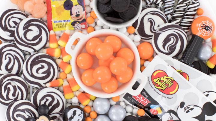 Mickey Halloween Candy Board