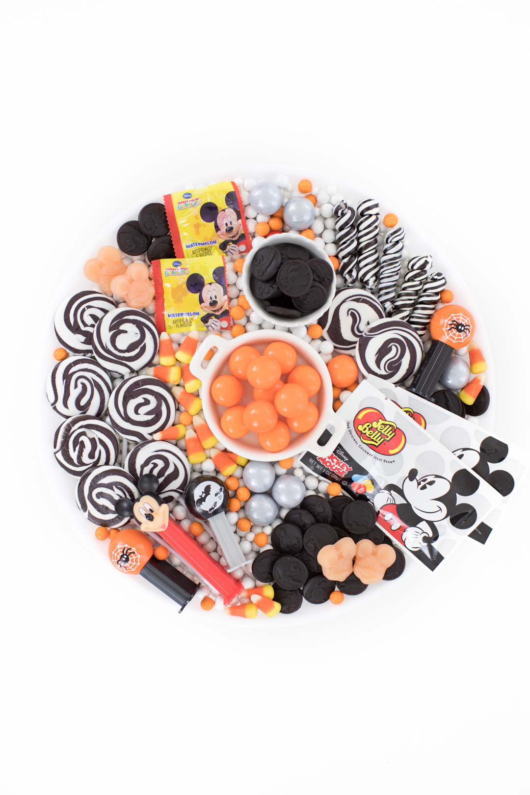 Not So Scary Mickey Mouse Candy Board