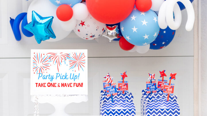 DIY Drive By Party Boxes