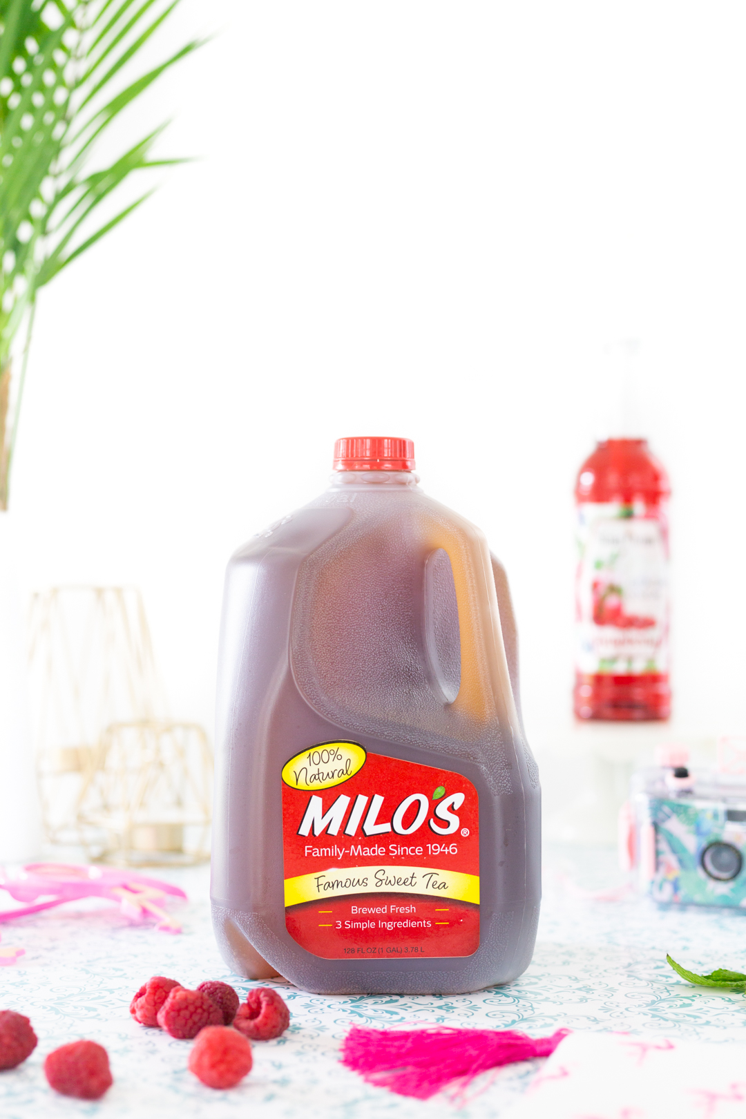 Jug of Milo's Iced Tea