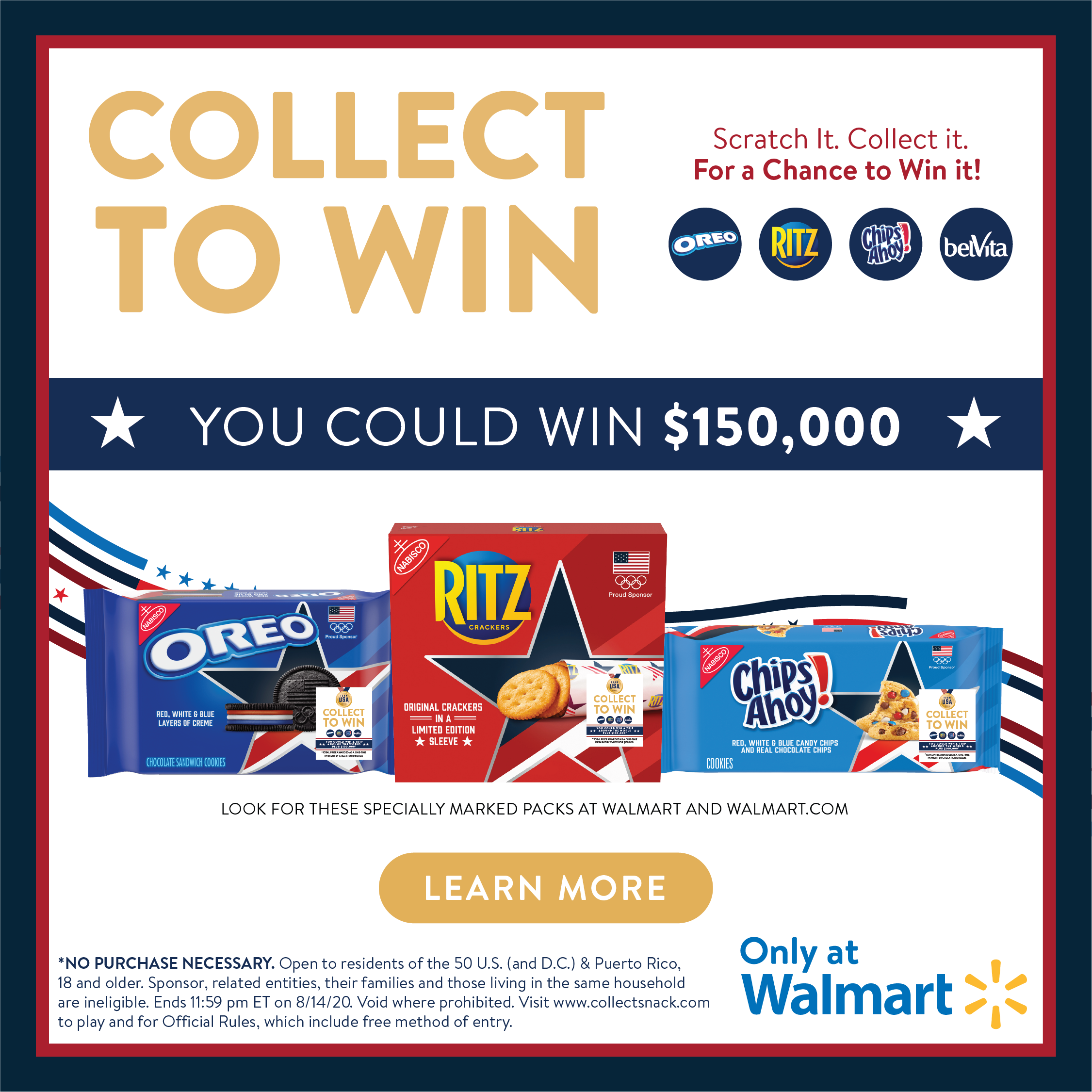 collect to win official graphic