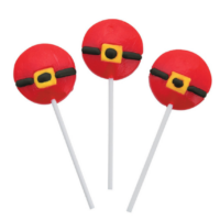 Santa Belt Lollipops
