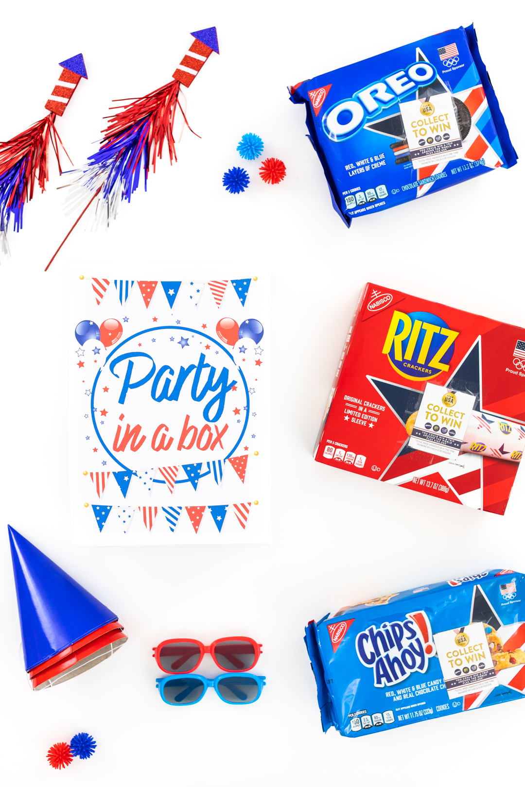 Party in a box for 4th of july