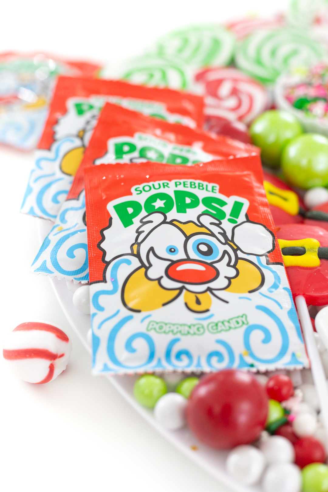 santa themed pop rocks