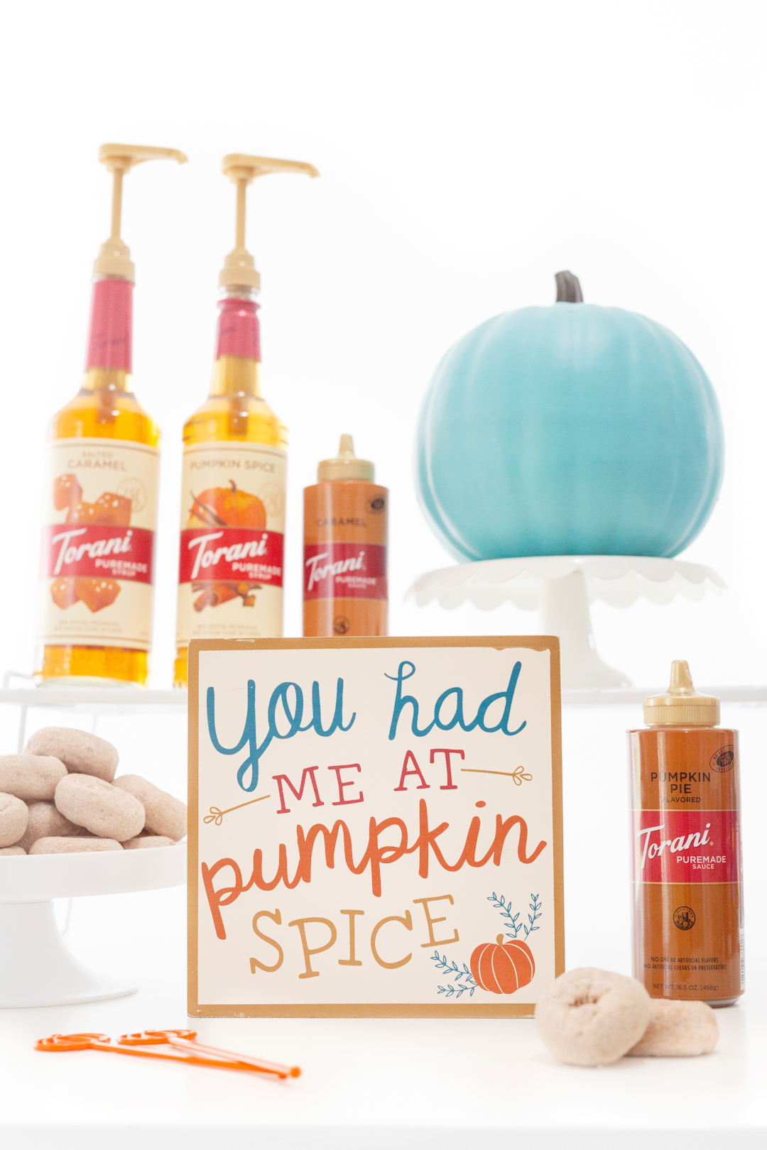 You Had Me At Pumpkin Spice Sign for a Pumpkin Spice Bar