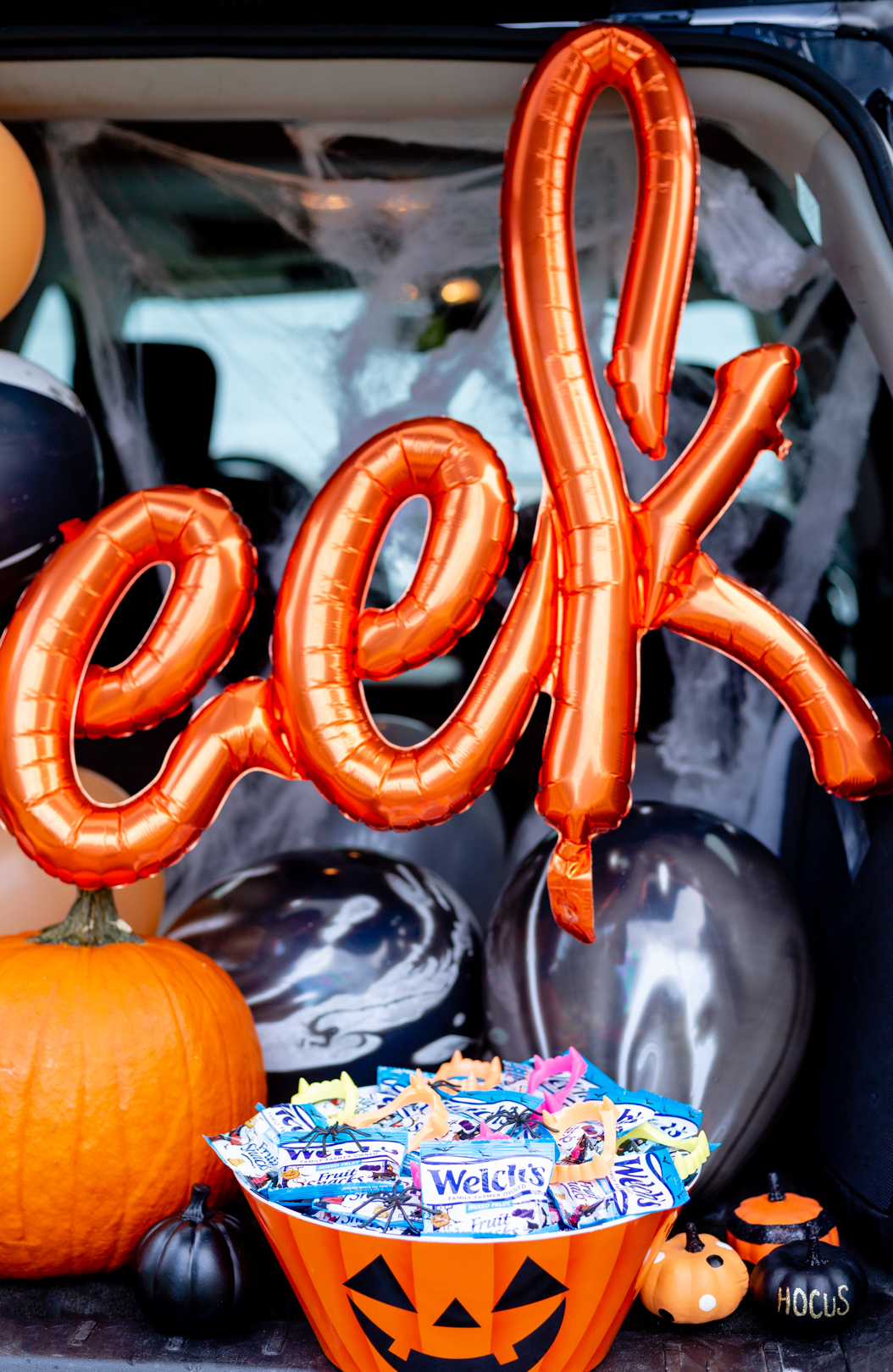 Trunk or Treat ideas with Halloween Welch's Fruit Snacks