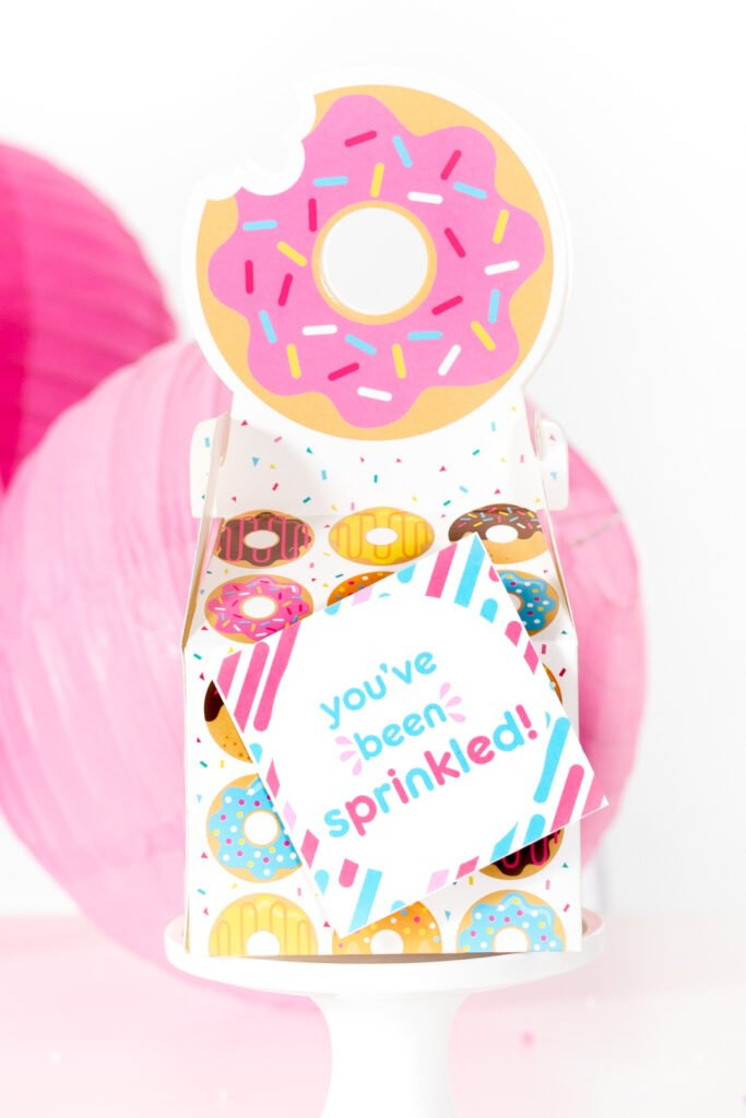 cute little donut gift box