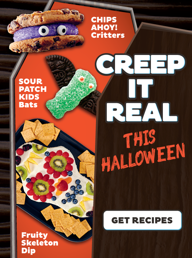 creep it real promotional image for halloween