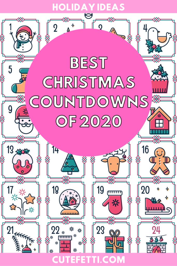 2020 christmas countdowns