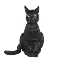 """13.3"""" Scary Black Cat Accent by Ashland"""