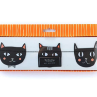 Amazon.com: My Mind's Eye Halloween Cat Banner - Party Decoration: Health & Personal Care