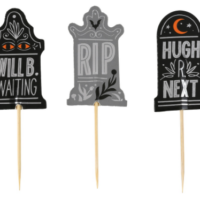 Tombstone Embellished Pick Toppers by Celebrate It