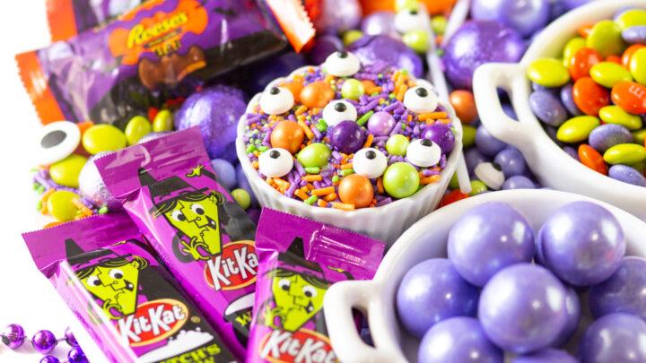 Best Halloween Candy Charcuterie Board