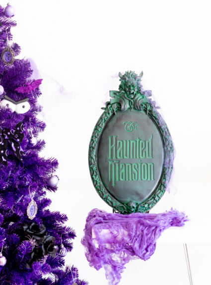 The Haunted Mansion Official Sign Plaque from Walt Disney World Store