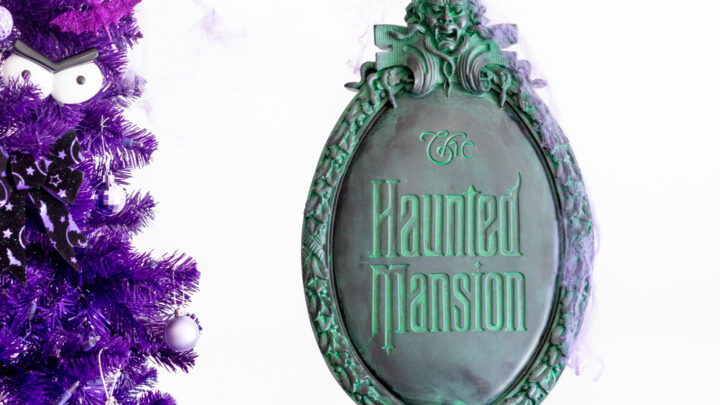 The Haunted Mansion Christmas Tree