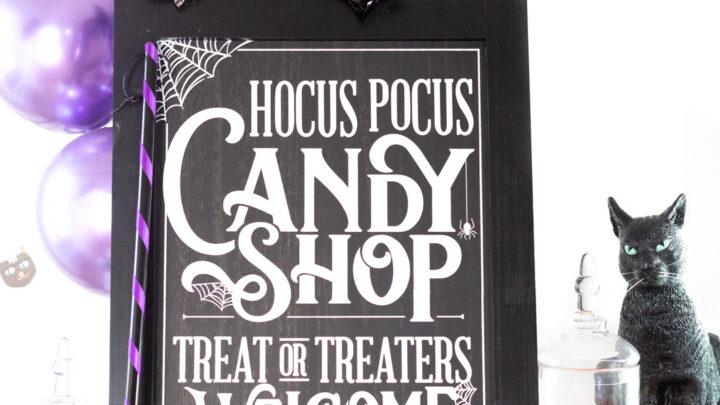 Hocus Pocus Candy Buffet