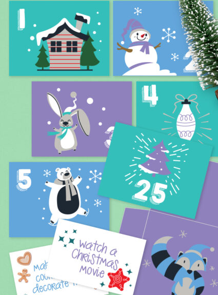 christmas countdown printables