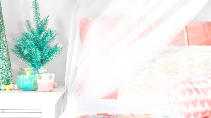 Cute Christmas Bedroom Makeover