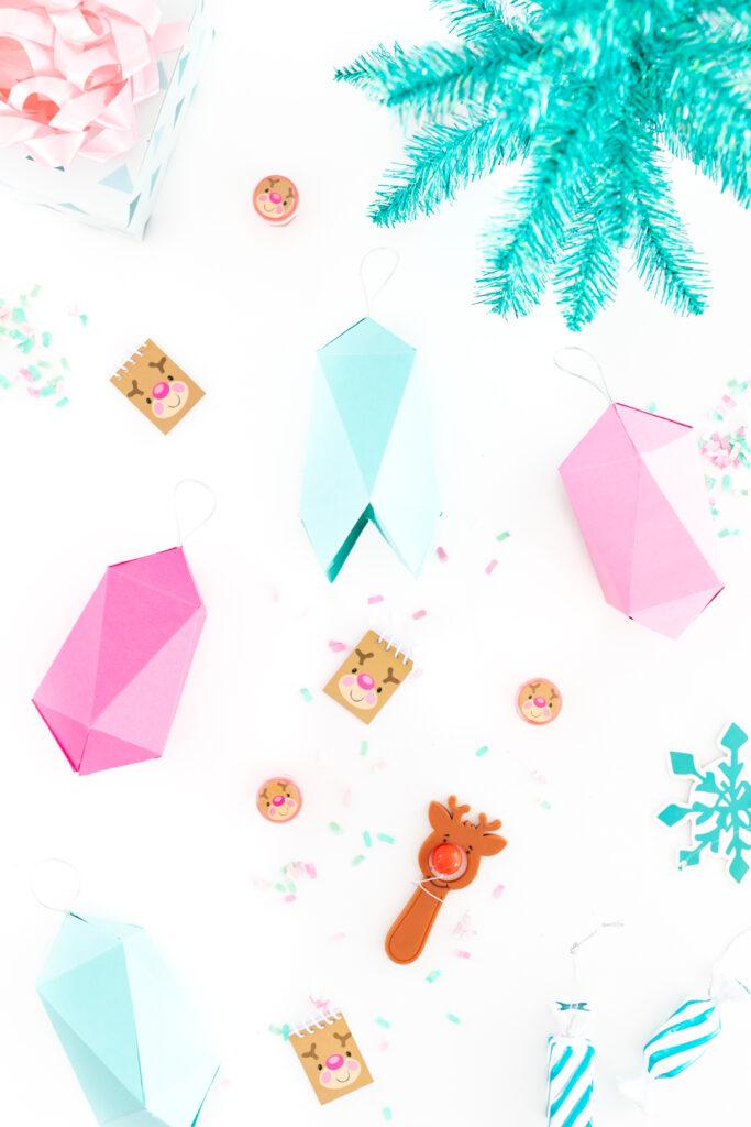 paper gem diy gift boxes