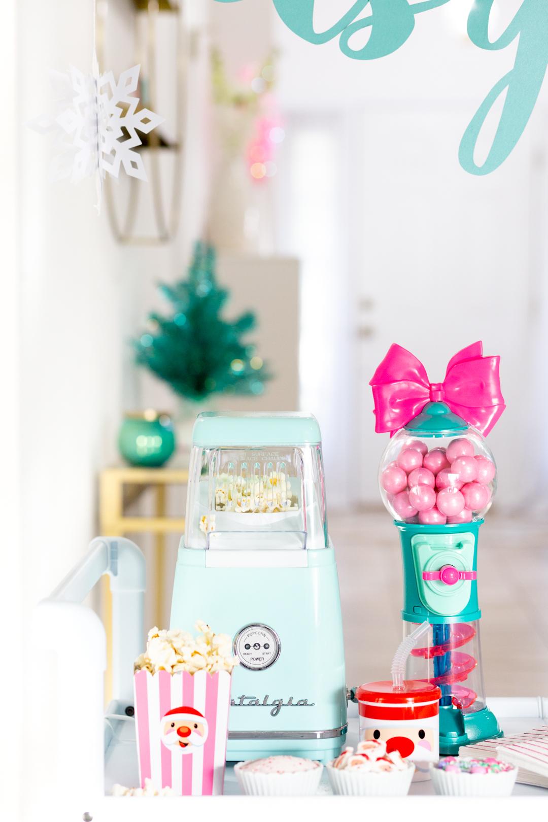 popcorn maker popcorn buffet bar