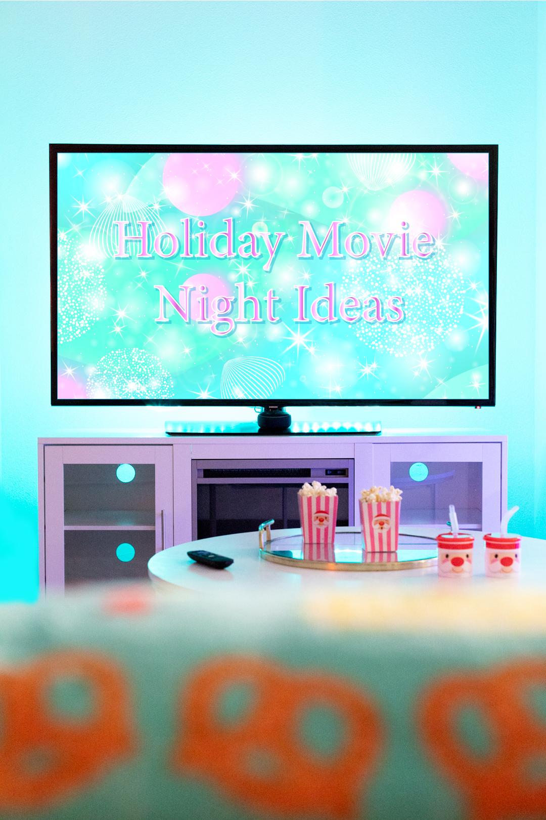 holiday movie night ideas with smart home lighting