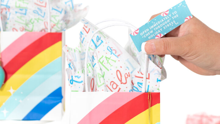 DIY Holiday Stress-Relief Gift Bags