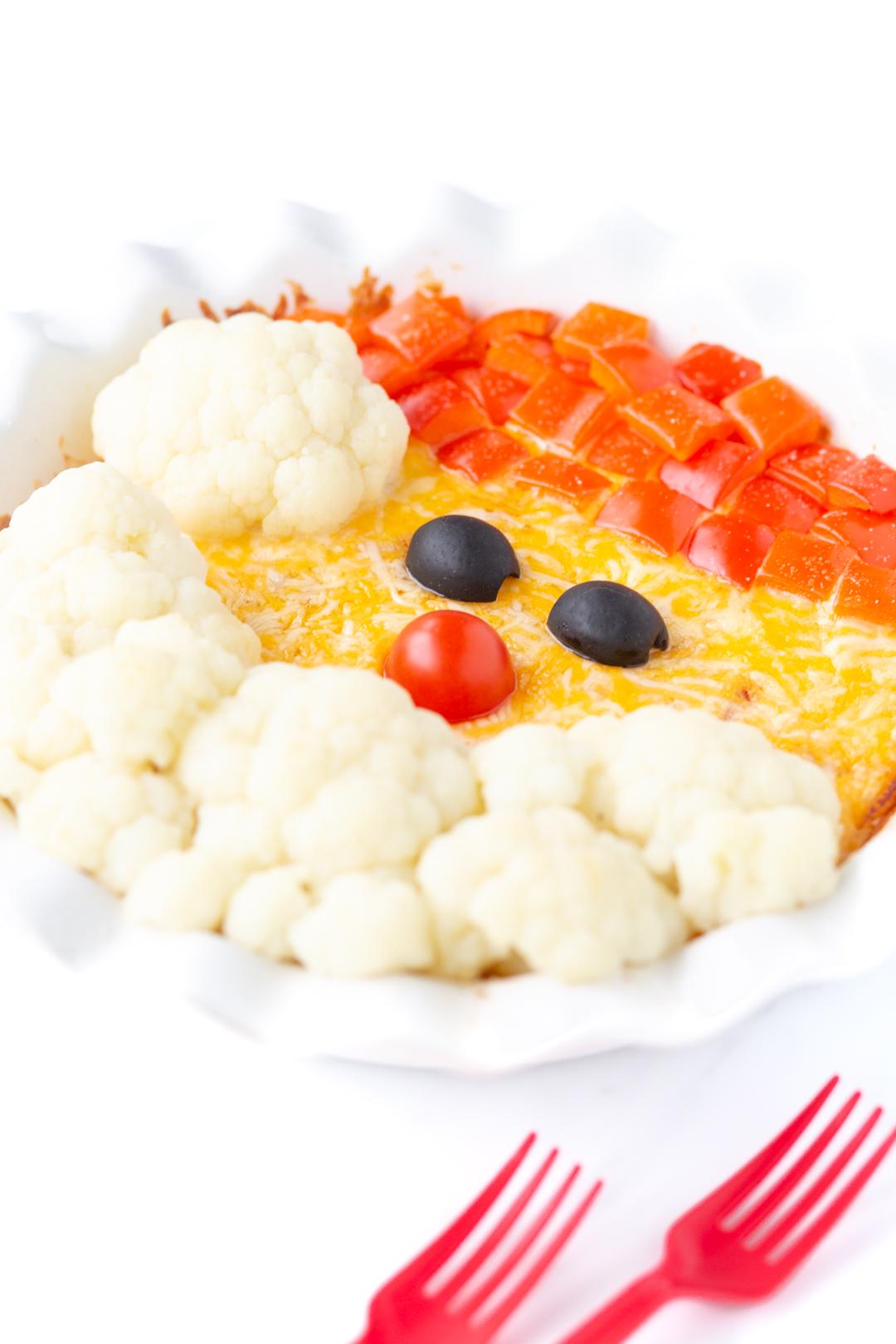 santa breakfast casserole