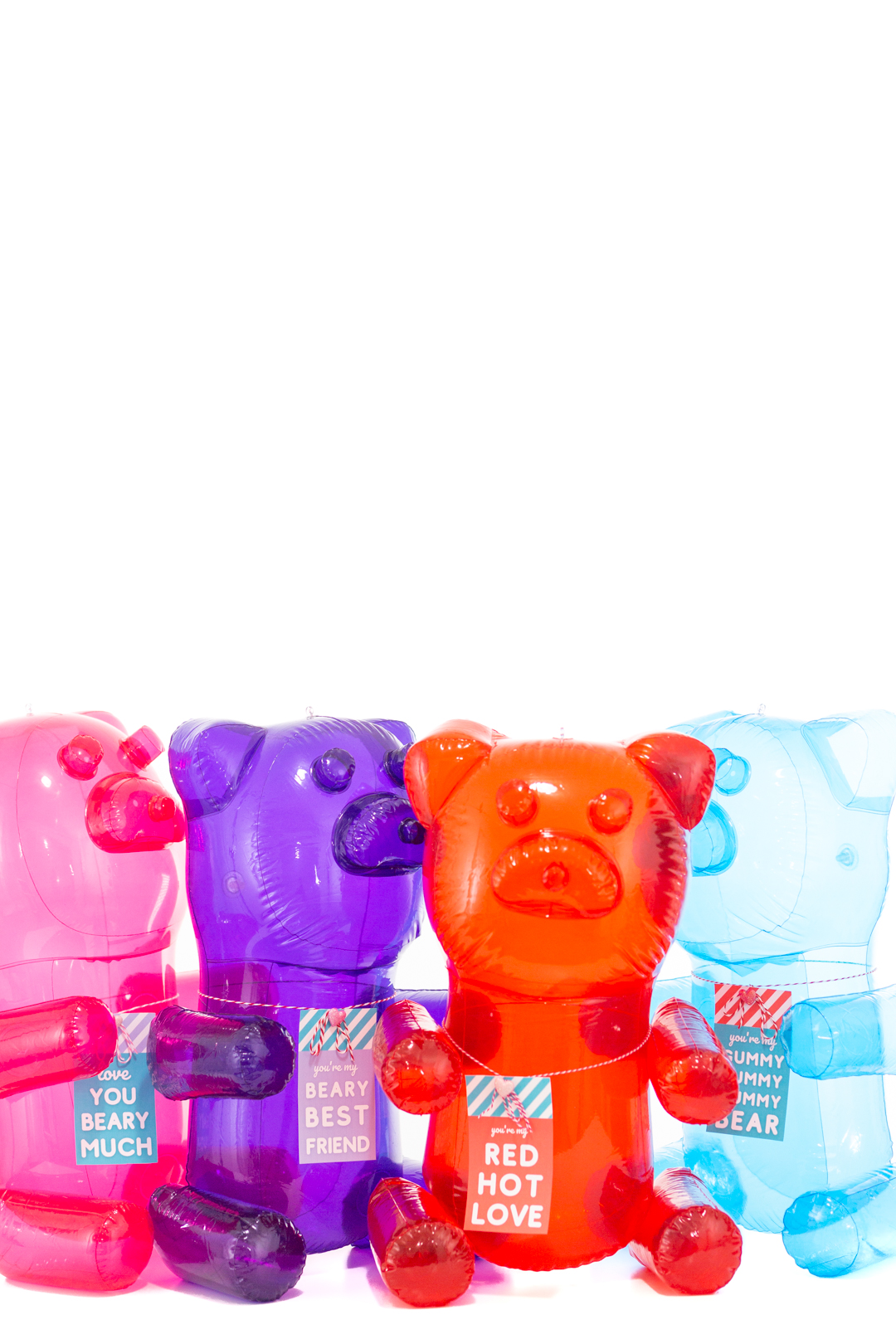 giant inflatable gummy bears for valentine's day