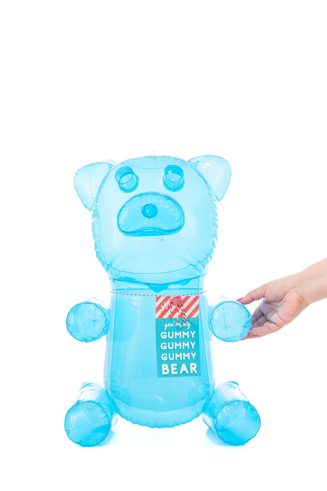 cute gummy bear inflatable