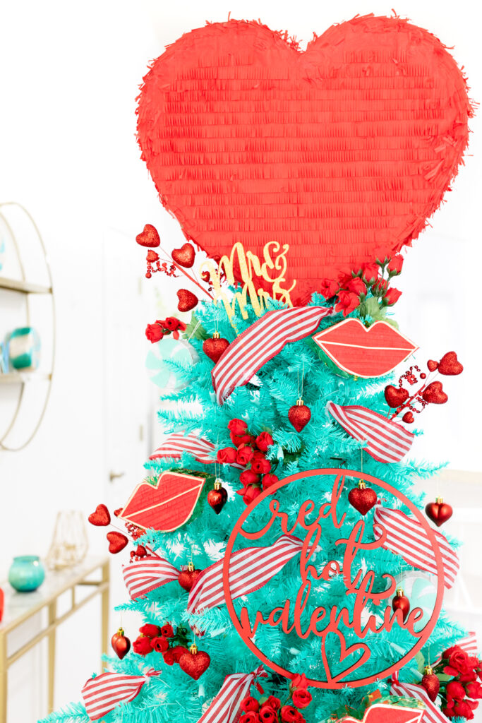 valentine's day christmas tree