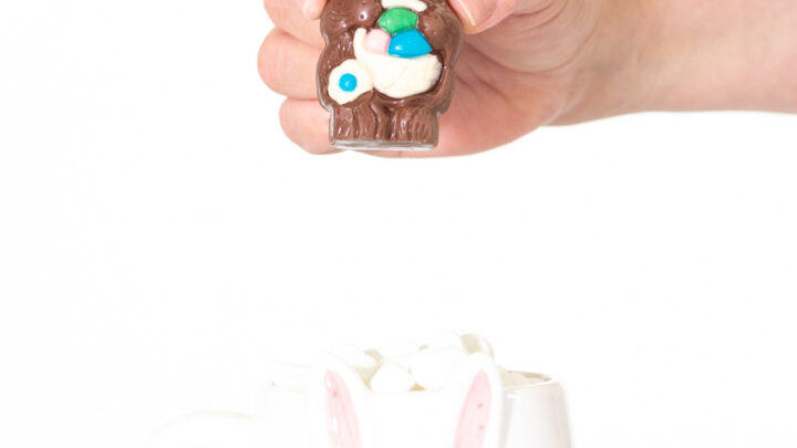 Easter Hot Cocoa Surprise