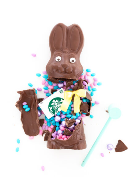 smash chocolate for easter