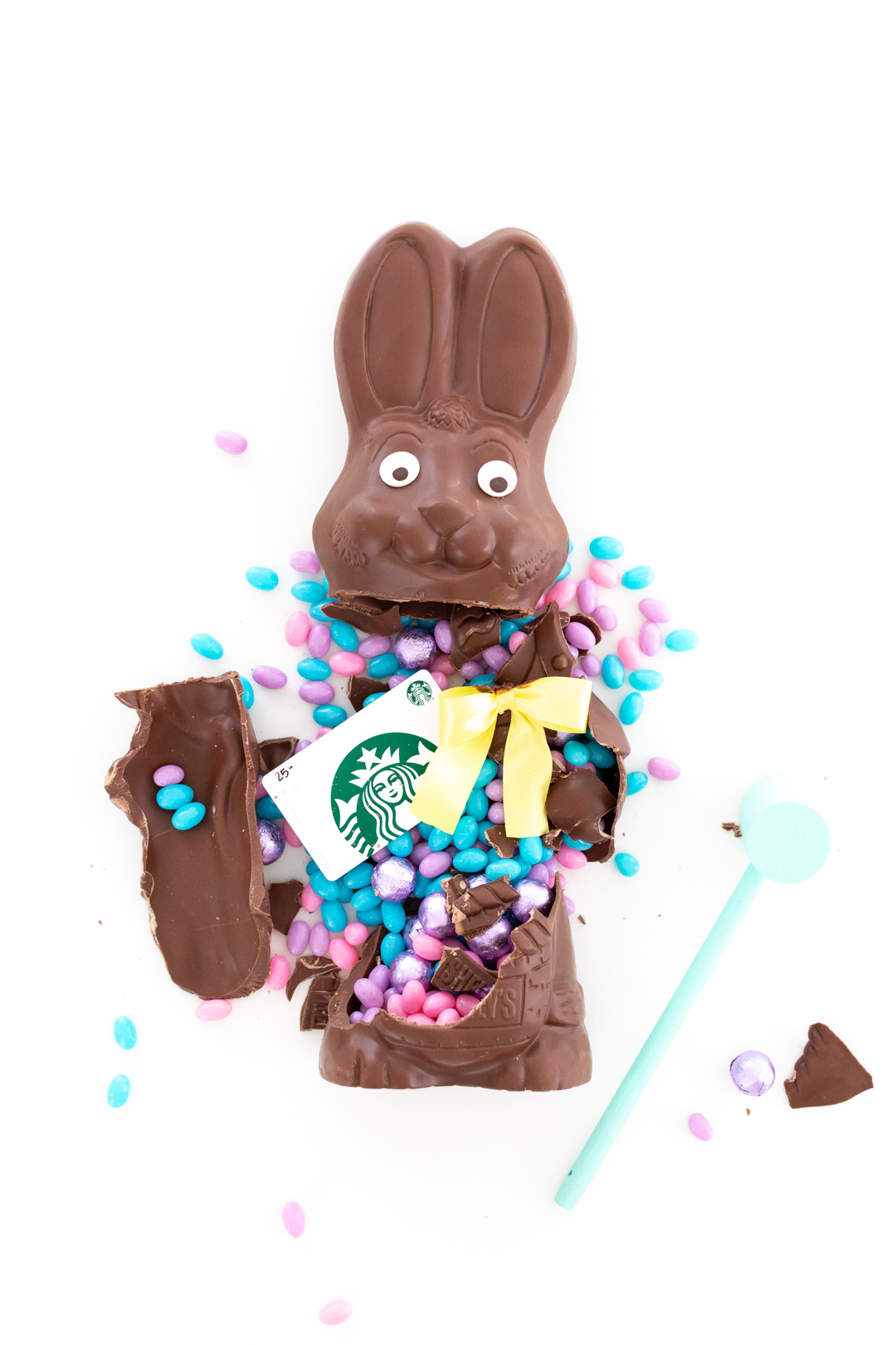 smash chocolate for easter
