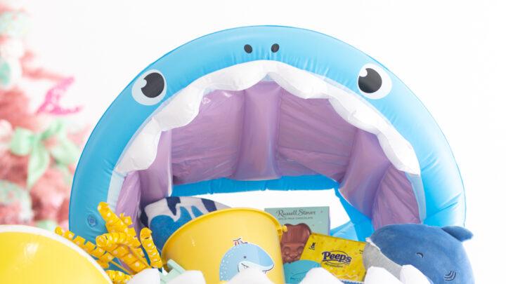 Shark Themed Easter Basket Ideas