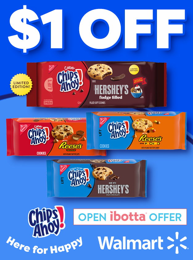 chips ahoy! cookier offer promo image