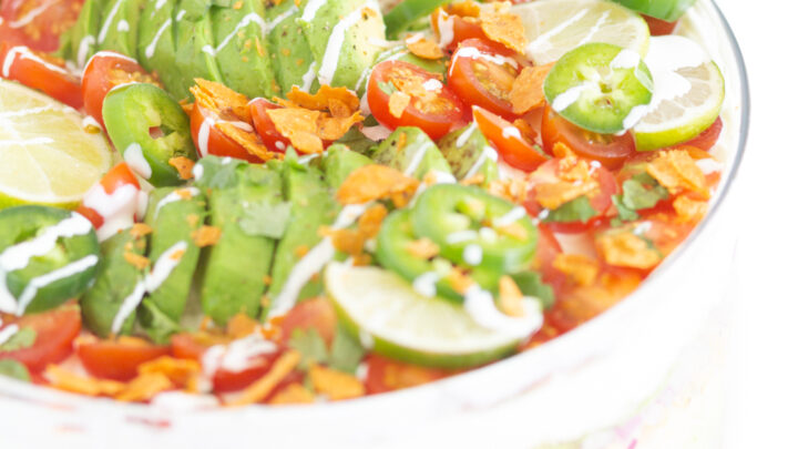 Make Easy Mexican Layered Salad